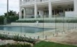 Farm Fencing Frameless glass